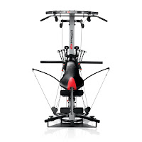 Bowflex Xtreme 2 SE, with ergonomic adjustable seat, provides back support / knee support