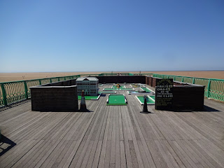 Crazy Golf on Saint Annes Pier