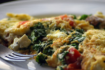 Omelet for One #breakfastforone