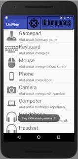 ListView dengan Gambar Android Tutorial