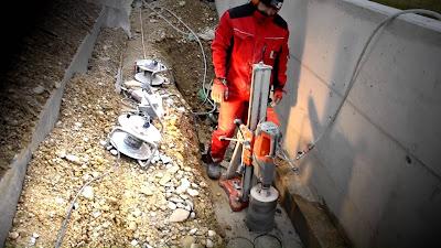 Khoan cắt bê tông khu công nghiệp Tân Thới Hiệp