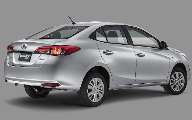 Novo Toyota Yaris Sedan 2019