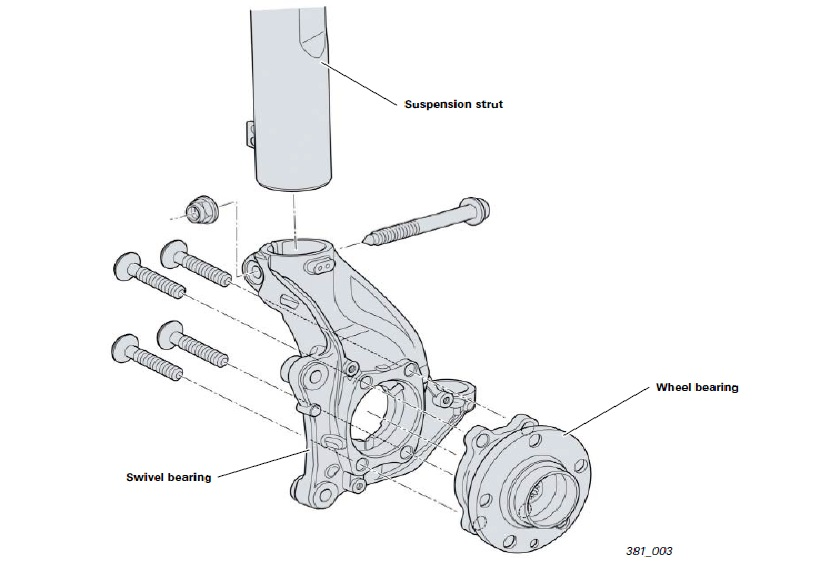 AUTO SUSPENSION: SUSPENSION SYSTEM FOR AUDI TT (FRONT AXLE)