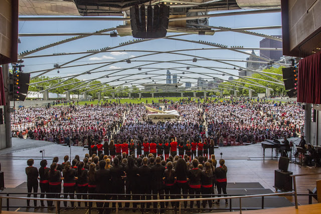 Festival Millenium Park Presents em Chicago
