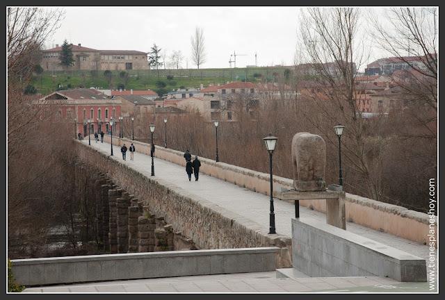 Puente Romano y Verraco de Salamanca