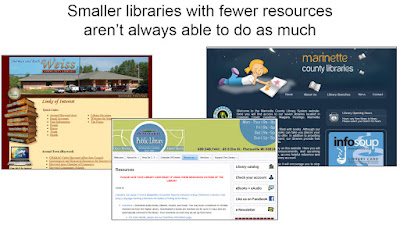 Small libraries - courtesy DPI