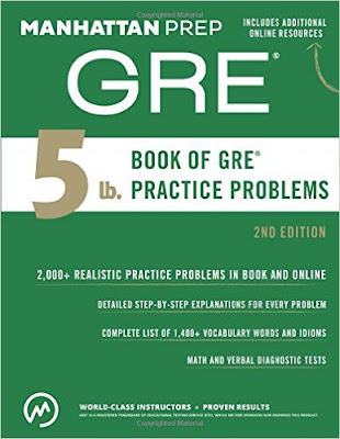Download Free Manhattan 5lb GRE Practice Problems Book PDF