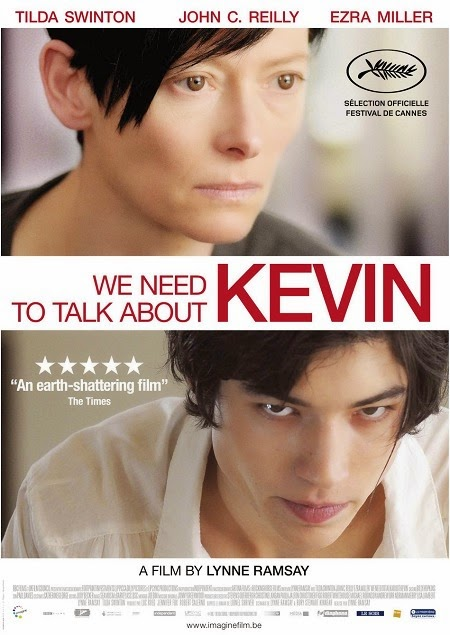 Affiche de We Need to Talk About Kevin, de Lynne Ramsay (2011)