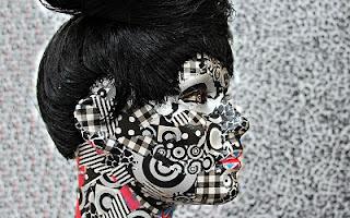 Donna bianco e nero