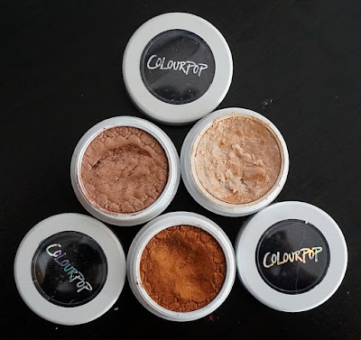 Super Shock Shadows Colourpop Ultra Metallic Ultra Glitter
