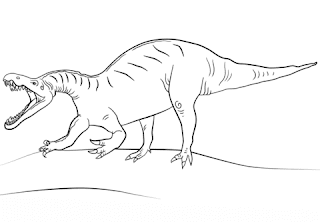Suchomimus Coloring Sheet Online For Print