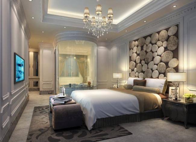 Dormitorios de lujo dormitorios con estilo - Decoracion paredes dormitorios ...