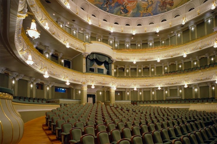 5. The Bolshoi, Moscow, Russia - Top 10 Opera Houses in the World