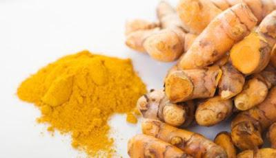 Herbal of turmeric, chicken egg yolk, and honey for fever
