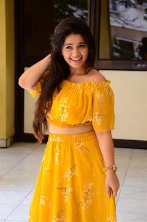 Chandni Bhagwanani in Yellow Dress