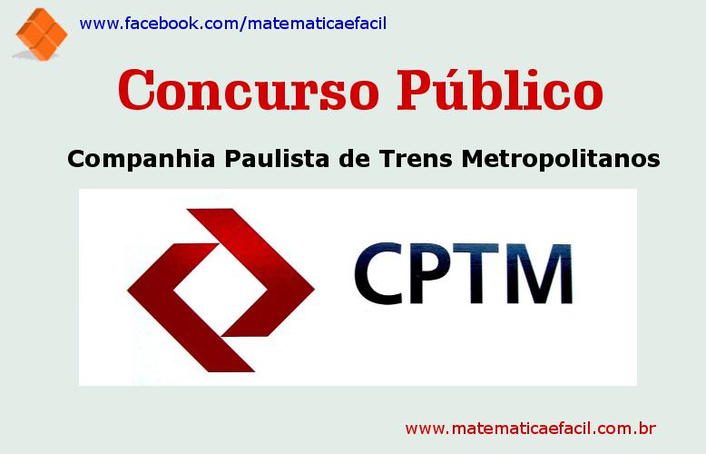 Concurso Público para a CPTM