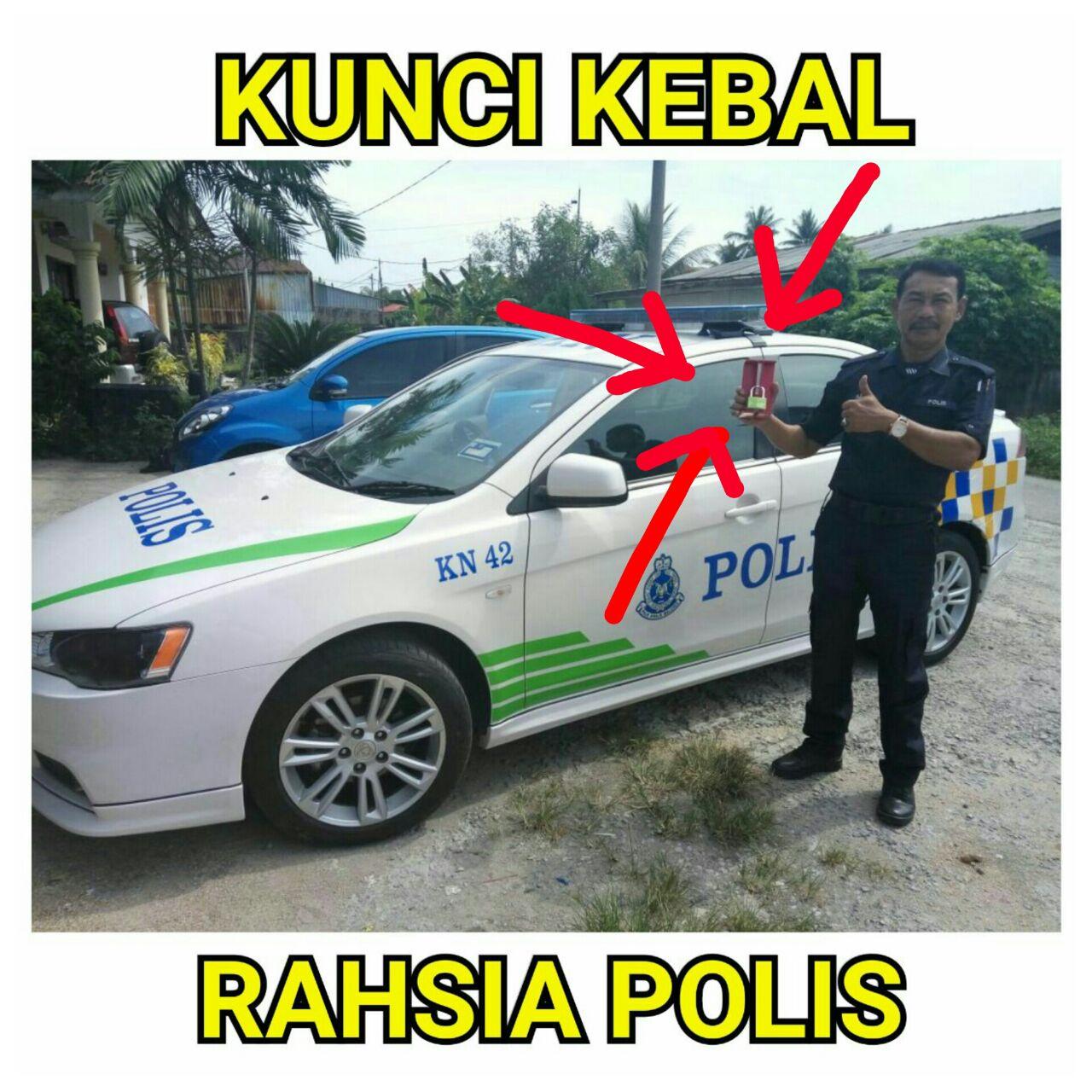 kunci kebal polis guna