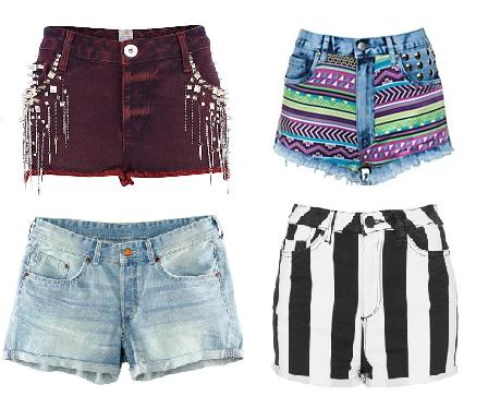 High Street Fashion Shorts