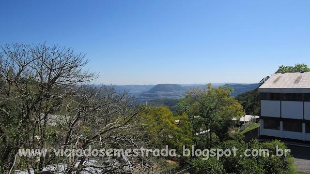 Vista do Campanário de Faria Lemos, Bento Gonçalves, Serra Gaúcha
