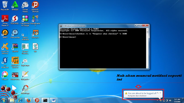 shutdown Windows 7 dan 8