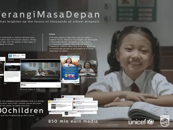 Philips Terangi Masa Depan Anak-anak Putus Sekolah