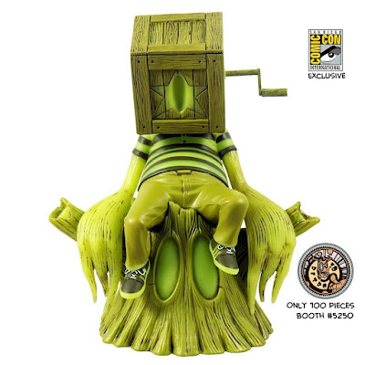 San Diego Comic-Con 2018 Exclusive Coozie Glow in the Dark Edition Vinyl Figure by Nathan Ota x 3DRetro