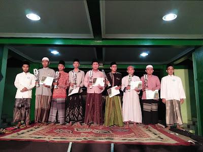 Delegasi Ponpes Dalwa Borong Juara di Sidogiri