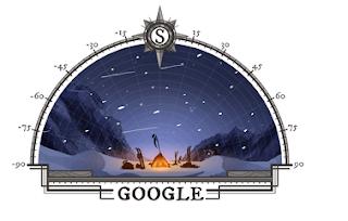 Google Doodle sărbătorește 105 ani de la prima expediție la Polul Sud