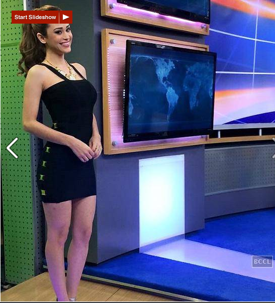 World's Sexiest Weather Girl' Yanet Garcia