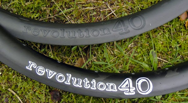 Revolution40 Carbon Rims - Graphics