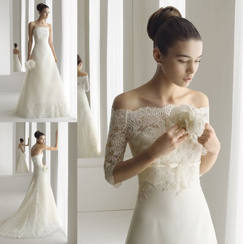 Latest Wedding Gowns 2014: DressyBridal: 2014 Wedding Gowns New Trends Part 1——Lace