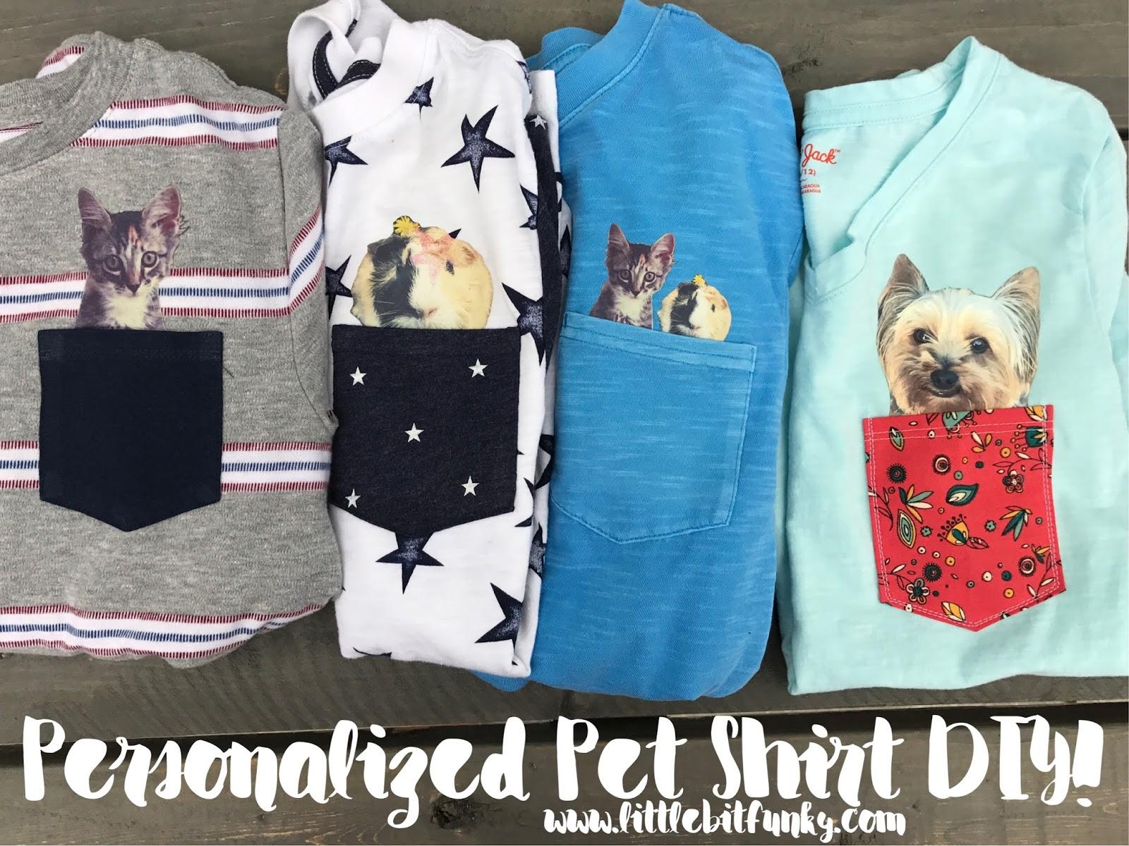 7d098b29 Little Bit Funky: Personalized Pet Shirt DIY