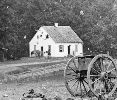 Dunker Church, Antietam picture 1