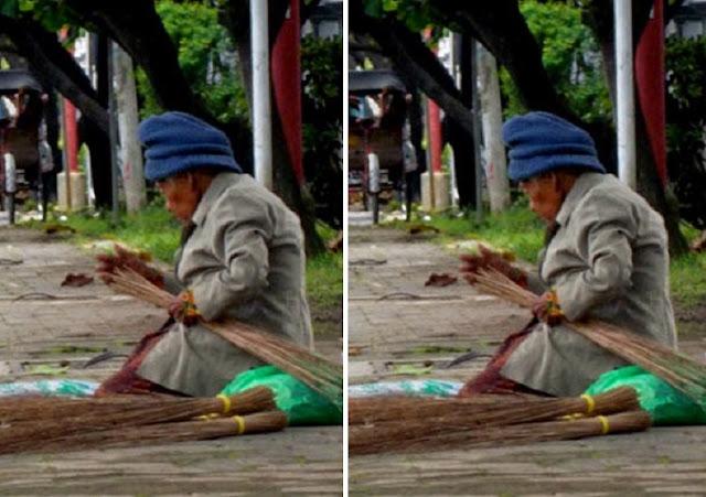 Berniat Sedekah ke Seorang Nenek Penjual Sapu, Wanita Ini Kaget Sang Nenek Malah Lakukan Ini!!