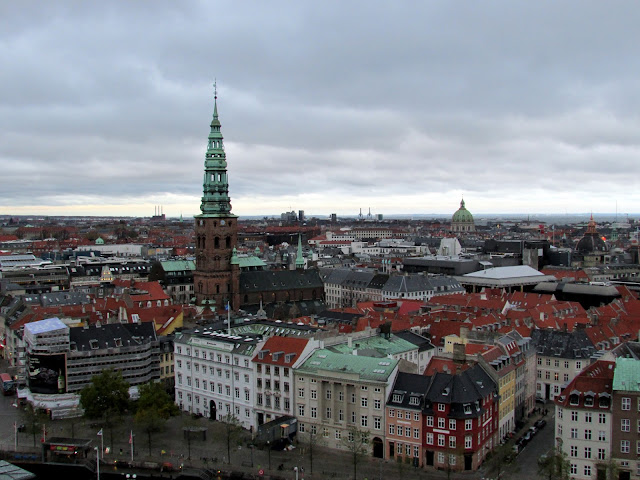 View from The Tower, Christiansborg Slot, Copenhagen