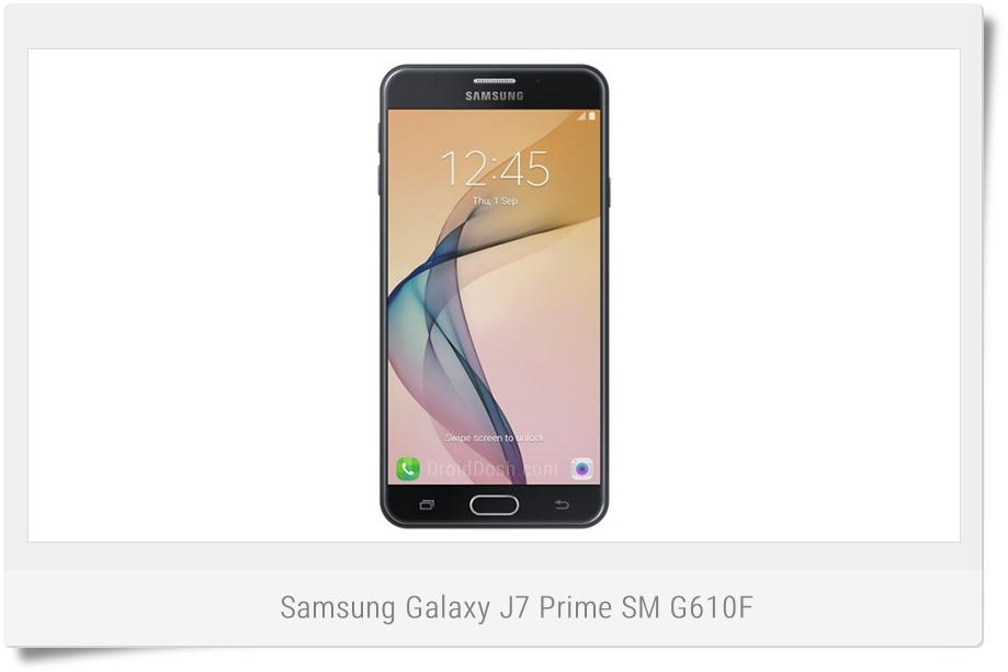 Download stock Nougat firmware for Galaxy J7 Prime SM-G610F from India - G610FDDU1BQH9