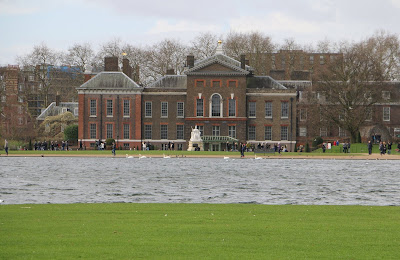 View of Kensington Palace from Kensington Gardens