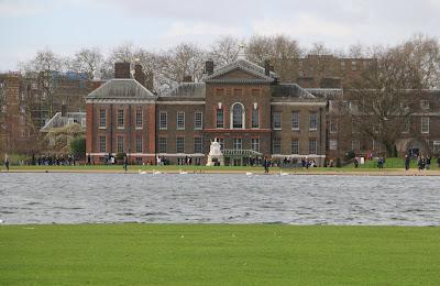 View of Kensington Palace from Kensington Gardens