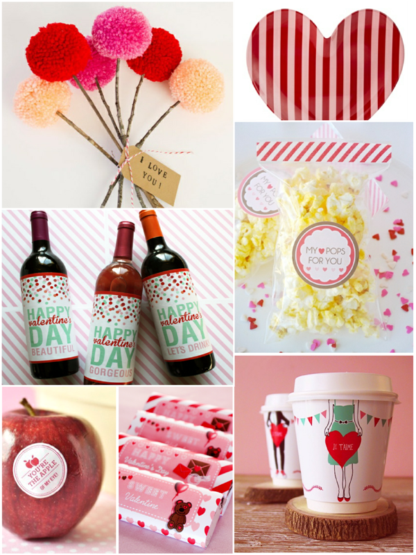 Very Last Minute DIY Valentine's Ideas - via BirdsParty.com