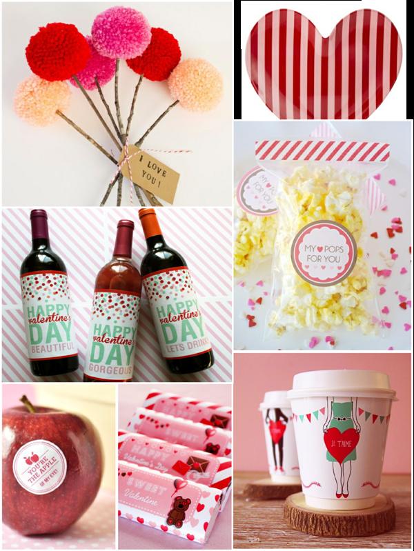 Very Last Minute DIY Valentine's Ideas - via BirdsParty.com