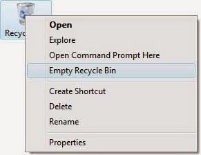 Hapus File-File sampah