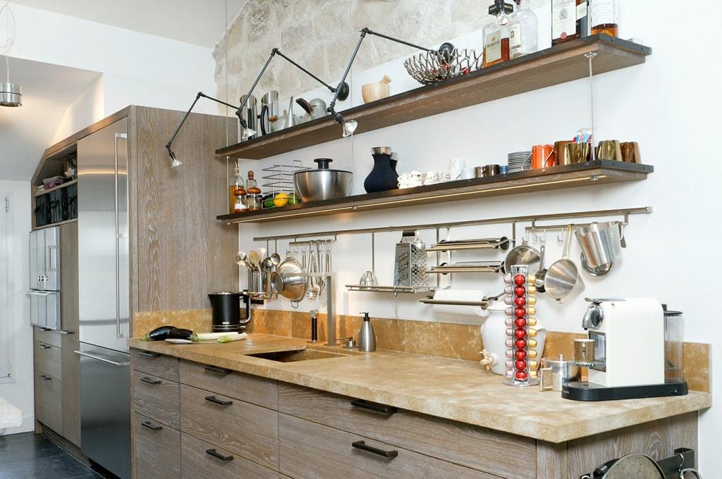 Estantes de cocina ideales para aportar estilo propio cocinas con estilo for Cuisine xaviez