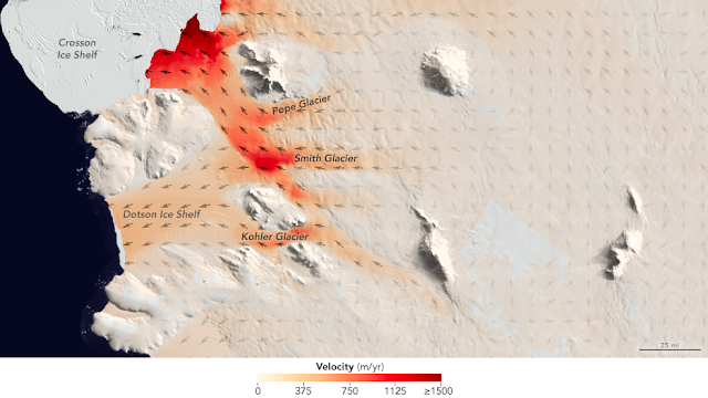 Researchers document accelerated glacier melting in West Antarctica