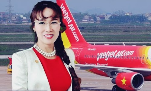 Biodata Nguyen Thi Phuong Thao Si Pemilik dan CEO VietJet Air