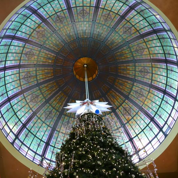 Weihnachtsbaum, Queen Victoria Building, Einkaufscenter, Sydney, Australien, Weihnachten