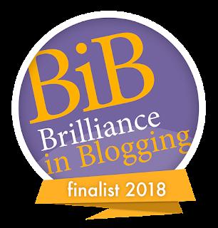 BiBs logo finalist badge