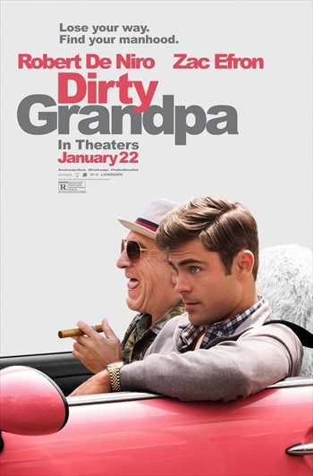 Dirty Grandpa 2016 English 720p WEB-DL 750mb ESubs