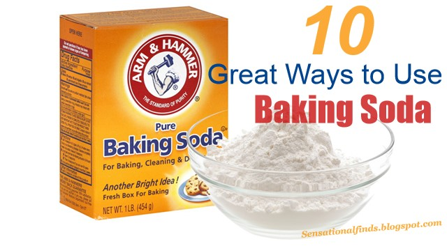 What is the use of baking soda in your body
