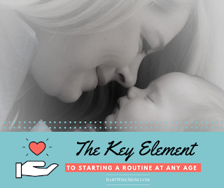The Key Element To Starting a Routine
