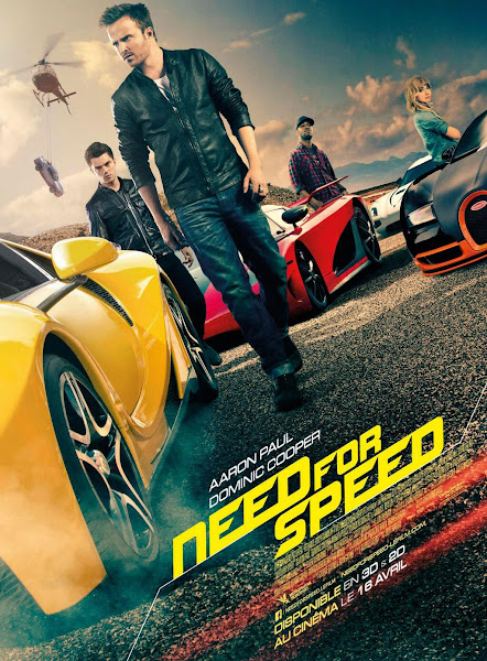 Poster of Need for Speed (2014) Dual Audio Hindi 720p BluRay ESubs Download
